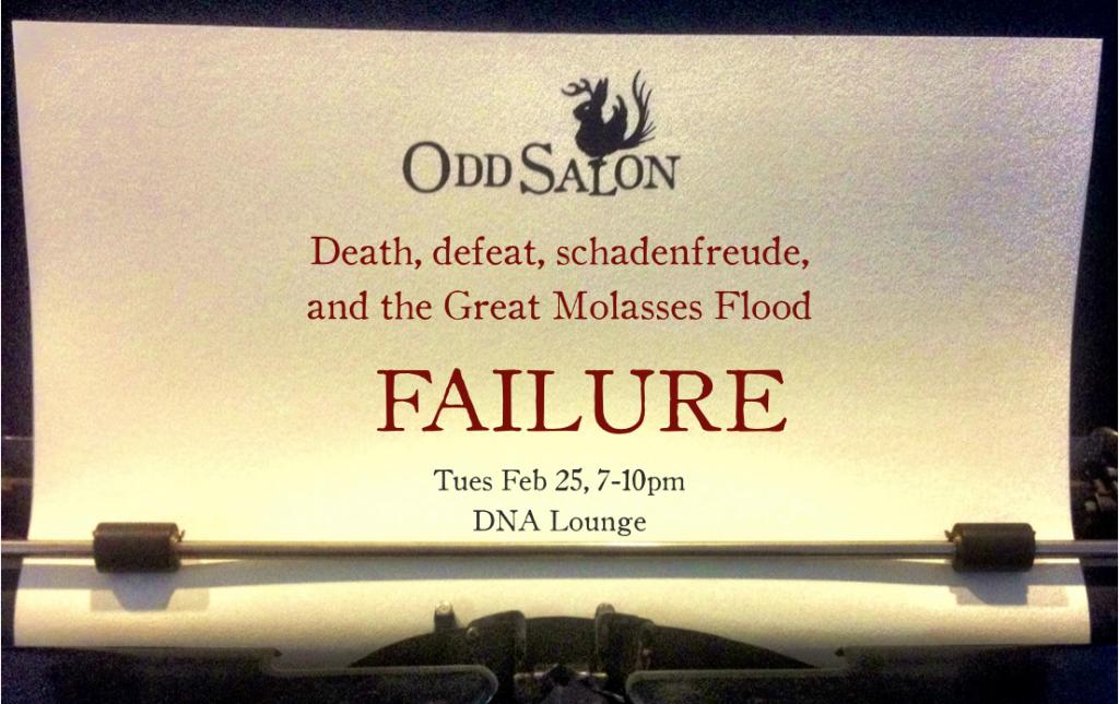 Odd Salon ~ Failure