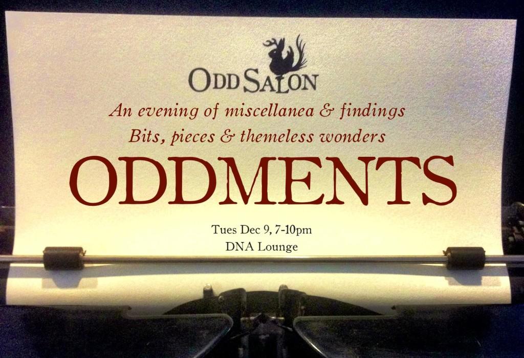 Odd Salon - ODDMENTS