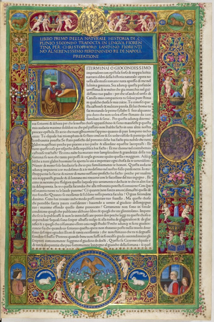 Natural Histories Pliny
