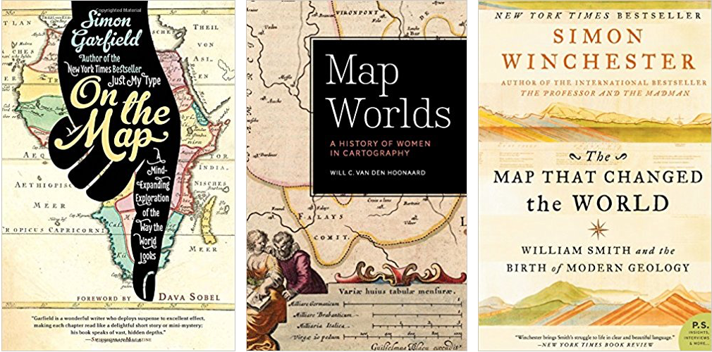 Three Odd Books - For the Love of Maps