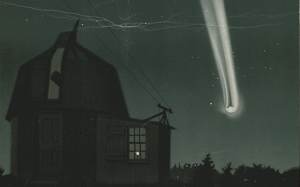 Great Comet of 1881 Trouvelot