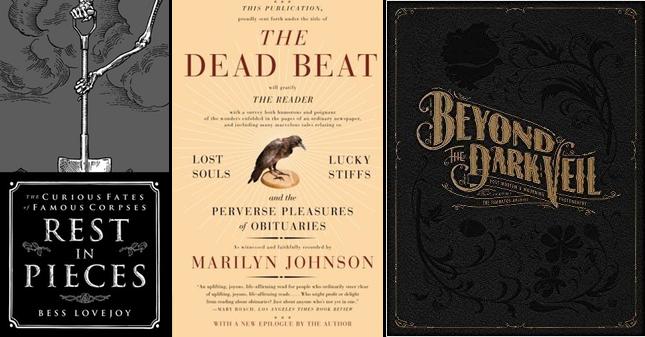 3 Odd Books Memento Mori - Death